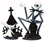 Nightmare Before Christmas 2 Piece Paperweight Set - Jack & Zero