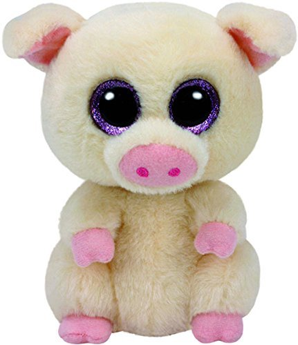 TY Beanie Boos Regular Plush (Piggley the Pig 6
