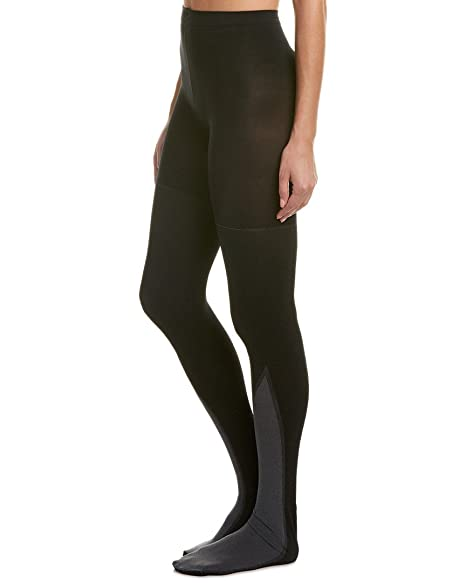 d76e8b2fa21 Spanx On Point Tights 20035R (Very Black A) at Amazon Women s Clothing  store