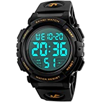 EOBP multi-function Sport watch 50M waterproof LED back light electronic watch student climbing wrist watch SKEMEI Men's digital watch