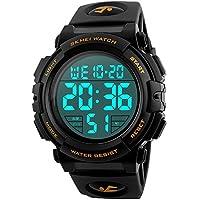 EOBP multi-function Sport watch 50M waterproof LED back light electronic watch student climbing wrist watch SKEMEI Men's digital watch