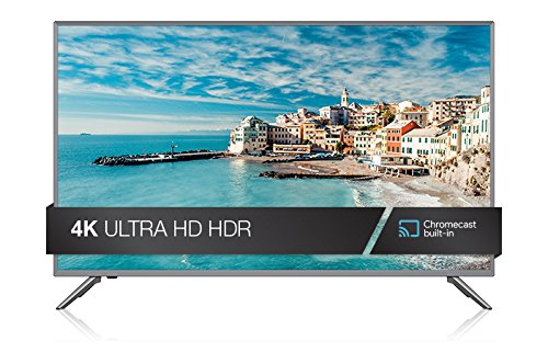 JVC 4K Ultra High Definition HDR Smart Cast TV Black