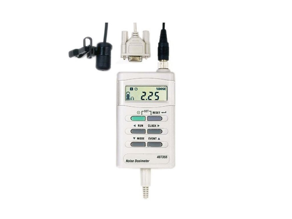 Extech 407355-NIST Noise Dosimeter/Datalogger with PC Interface and NIST