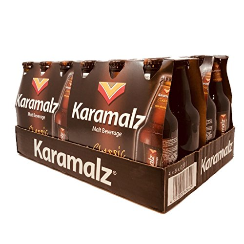 Karamalz Classic (Non Alcohoic Malt Beverage)330ml/bottle;6x4 Bottle/case