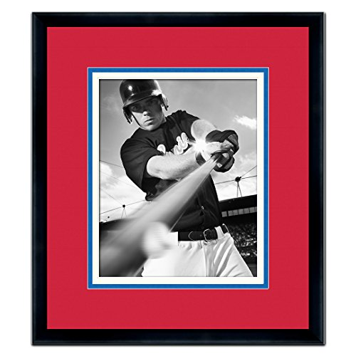 - Philadelphia Phillies Classic Black Wood Photo Frame Made to Display 8x10 Photos