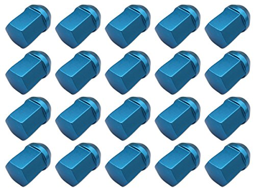 【20個入】【ホイールナット】19H31mm袋ナット青M12×P1.25【アルミ製】【日産スバルスズキ適合】 B00D5N6148
