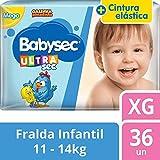 Fralda Infantil Descartável Babysec Galinha Pintadinha Ultrasec XG 36 Unidades
