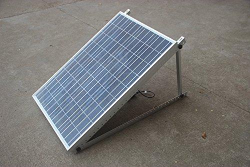 Adjustable Solar Panel Mount Mounting Rack Bracket Set Rack Folding Tilt Legs Boat