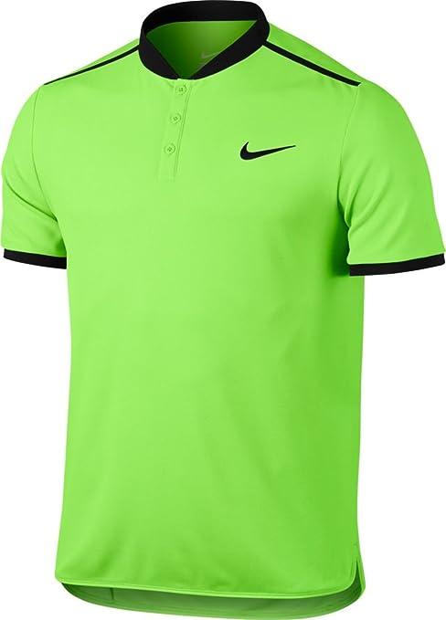 pretty nice 19707 982cd Amazon.com   Nike Court Advantage Modern Fit Tennis Polo Ghost Green Black  Men s MEDIUM   Everything Else