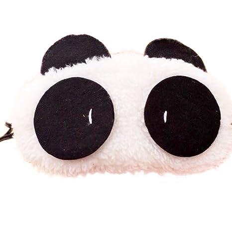 Hosaire Cartoon Antifaces para Ojos Cubre Máscara de Sueño Patròn de Oso para Dormir Descansar Eyeshade