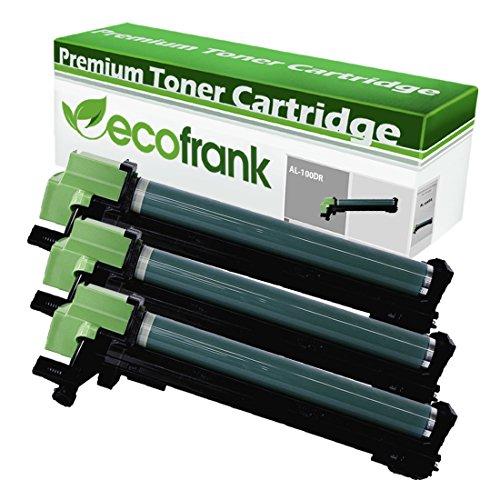 EcoFrank Compatible Drum Unit Sharp AL-100DR 13R551 (Black, 3-Pack)