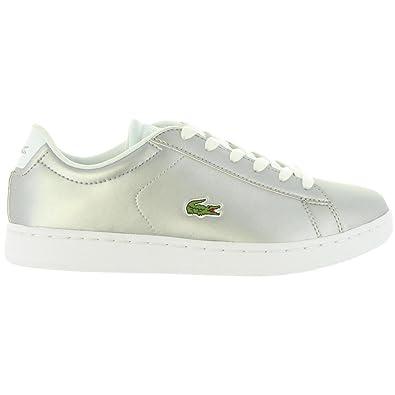 bcc9ba6e2c Chaussures de sport pour Femme LACOSTE 34SPJ0006 CARNABY 334 LT GRY Taille  35