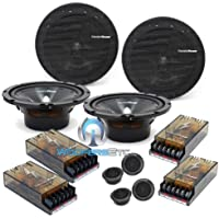 2 Sets Precision Power S2.65c 6.5 Component Speakers By Makers of Soundstream