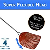 Bug & Fly Swatter – Extra Long Handle 4 Pack Fly