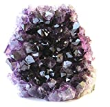 Class 1 Natural Deep Purple Uruguay Amethyst Upright Standing Stone By JIC Gem: 6-7 Pounds