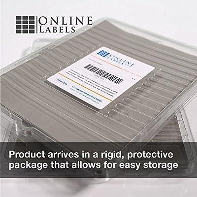 Amazon.com: Online etiquetas – 100 hojas – amarillo papel ...