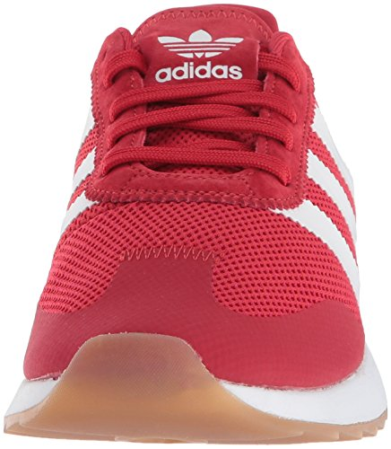 Runner W FLB adidas White Scarlet Shoe 7 US M Running Originals Women's qxEpwIt