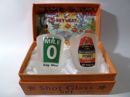(Florida Key West Boxed Shot Glass Set (Set of 2))