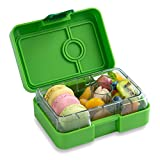 YUMBOX MiniSnack Leakproof Snack Box (Avocado Green); Bento-style snack box offers Durable, Leak-proof, On-the-go Meal and Snack Packing