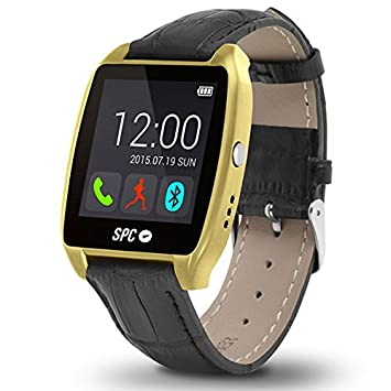 SPC Smartee Watch Edition Reloj Inteligente Oro 9606G: Amazon.es: Electrónica