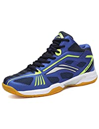 Fashiontown Badminton Shoes Men Non Slip Indoor Court Tennis Volleyball Sneakers Safety Training Shoe