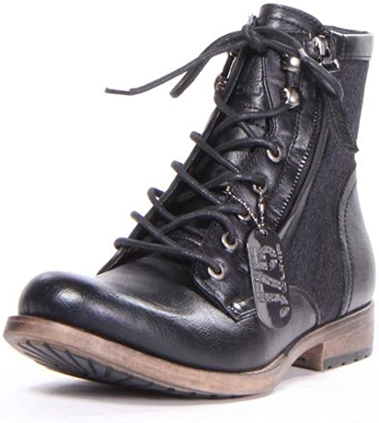 7ff44ab26d5 Amazon.com | J75 by Jump Men's D-Day Military Boot Black Black 9 D ...