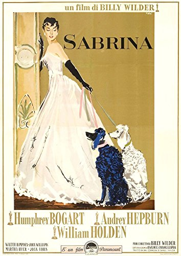 Bingirl H1837 Sabrina Movie Poster Audrey Hepburn Vintage 4