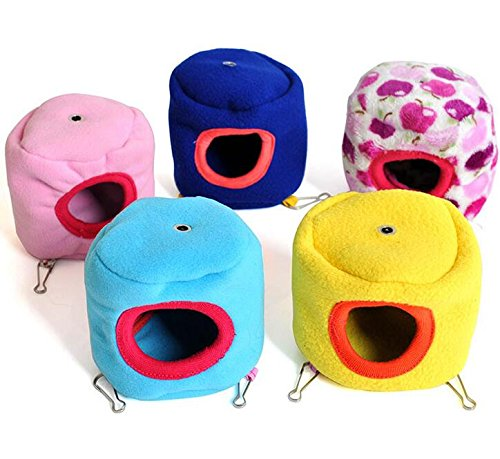Kingwin Pet Hanging Bed Nest Warm Tree House For Rat Bird Hamster Squirrel - Random Color