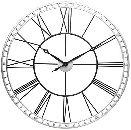 Infinity Instruments 15539BS-KD Metal Wall Clock 39