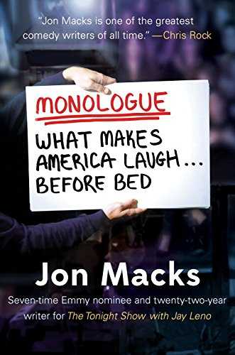 Book Cover: Monologue: What Makes America Laugh Before Bed