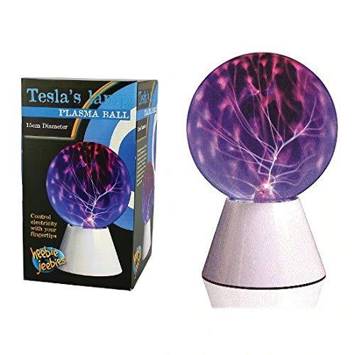 Heebie Jeebies Tesla's Lamp Plasma Ball - Ages 8+ (High Plasma Ball Voltage)
