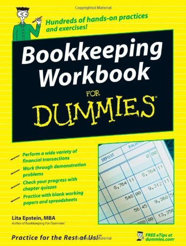 Bookkeeping Workbook For Dummies by Lita Epstein (2007-10-08)