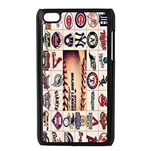 Stylish Designed MLB All Team Logos Hard Snap-on Back Cover Case For Ipod Touch4