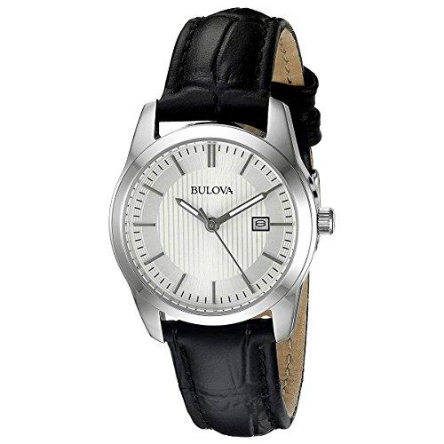 bulova-womens-96m129-analog-display-quartz-black-watch