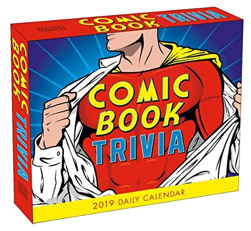- Comic Book Trivia - 2019 Daily Desk Calendar