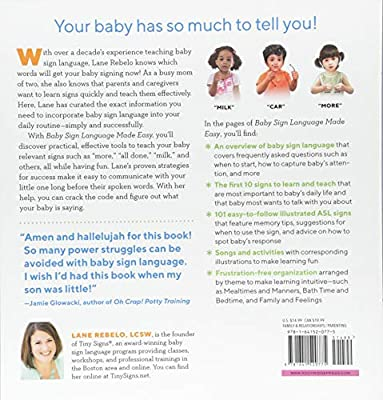 Baby Sign Language Made Easy: 101 Signs to Start Communicating with Your Child Now