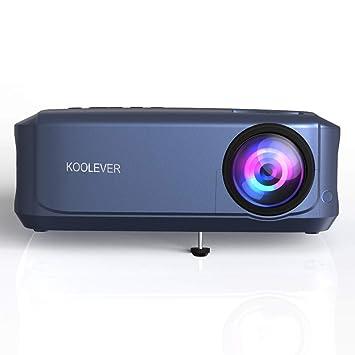 Proyector , Video Proyector LED 3800 lúmenes Cine en casa Experiencia de Cine reunión Familiar Juegos de Video Noche de películas con HDMI / USB / VGA ...