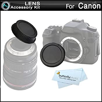 amazon com rear lens cap and camera body cover cap for canon rebel