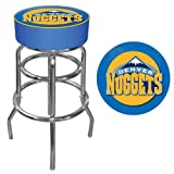 Trademark Gameroom NBA Denver Nuggets Padded Swivel Bar Stool