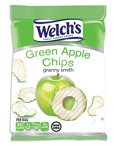 Welch's Apple Chips 21g (.74 oz) Bag - 4ct (or one 3.5 oz) (Granny Smith) ()