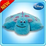 Pillow Pets Authentic Disney 18 Sulley, Folding Plush Pillow- Large Color: Sulley Toy, Kids, Play, Children