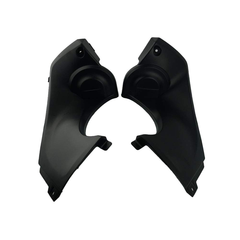 Unpainted Left+Right Black Intake Ram Air Tube Cover Fairing Parts For Yamaha YZF R6 1998-2002 1999 2000 2001 Fairing Parts