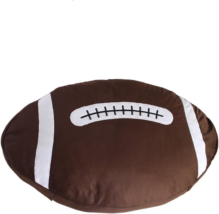 YUMU CASA - Cojín de Baloncesto y balón de Rugby para Decorar la ...