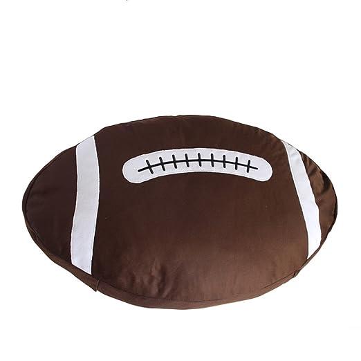 YUMU CASA - Cojín de Baloncesto y balón de Rugby para ...