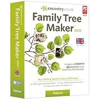 Family Tree Maker 2009 Deluxe (PC CD)