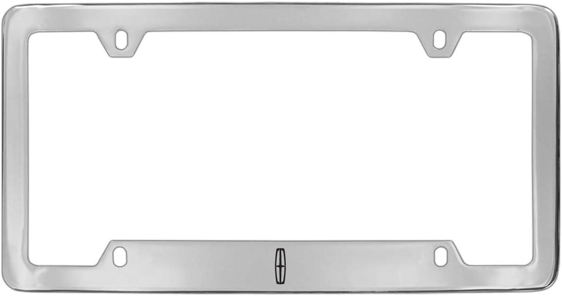 Lincoln Workmark Chrome Plated Metal License Plate Frame Holder