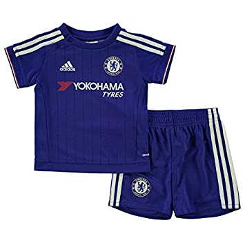 ADIDAS CHELSEA FC BABY INFANT SHIRT + SHORTS KIT 9-12 M0NTHS 80cm  AUTHENTIC  Amazon.co.uk  Baby 3620f089e