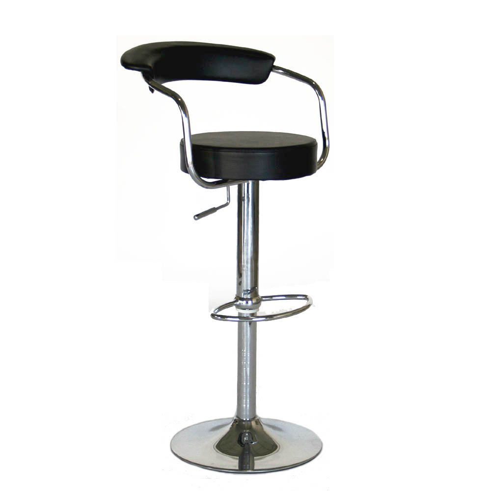 Modern Contemporary Adjustable Bar Stools, Set Of 2: Amazon.ca: Home U0026  Kitchen