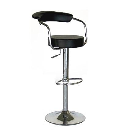 Merveilleux Amazon.com: Modern Contemporary Adjustable Bar Stools, Set Of 2: Kitchen U0026  Dining