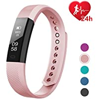 LETSCOM Fitness Tracker HR, Activity Tracker with Step...